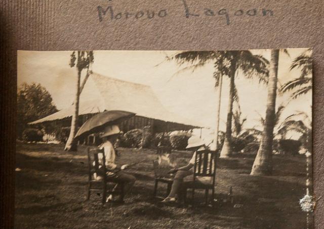 Margaret Warner's scrapbook held by Andrew Phillips.  Port Angeles, WA